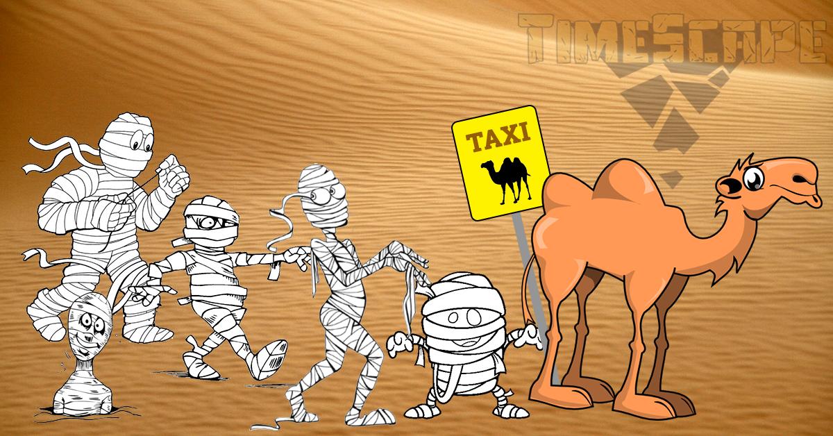 Можете ли да подредите мумиите в правилен ред?