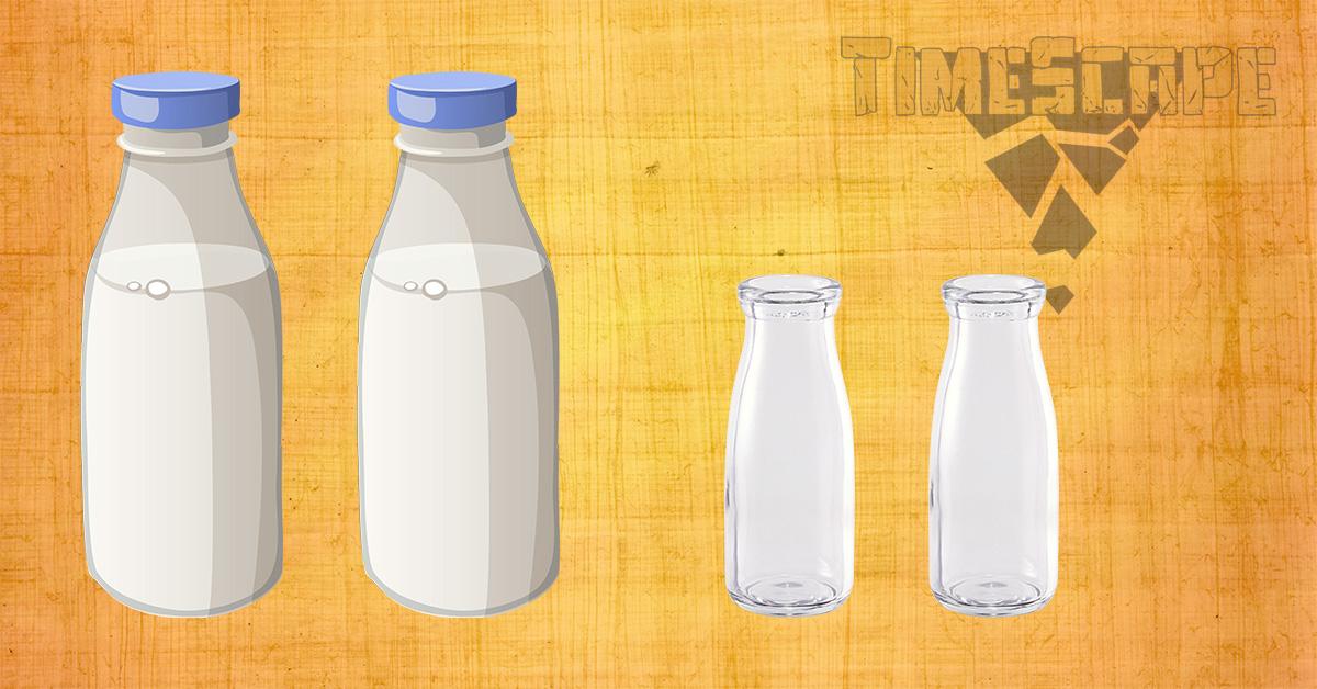 Как да си отмерим млякото?