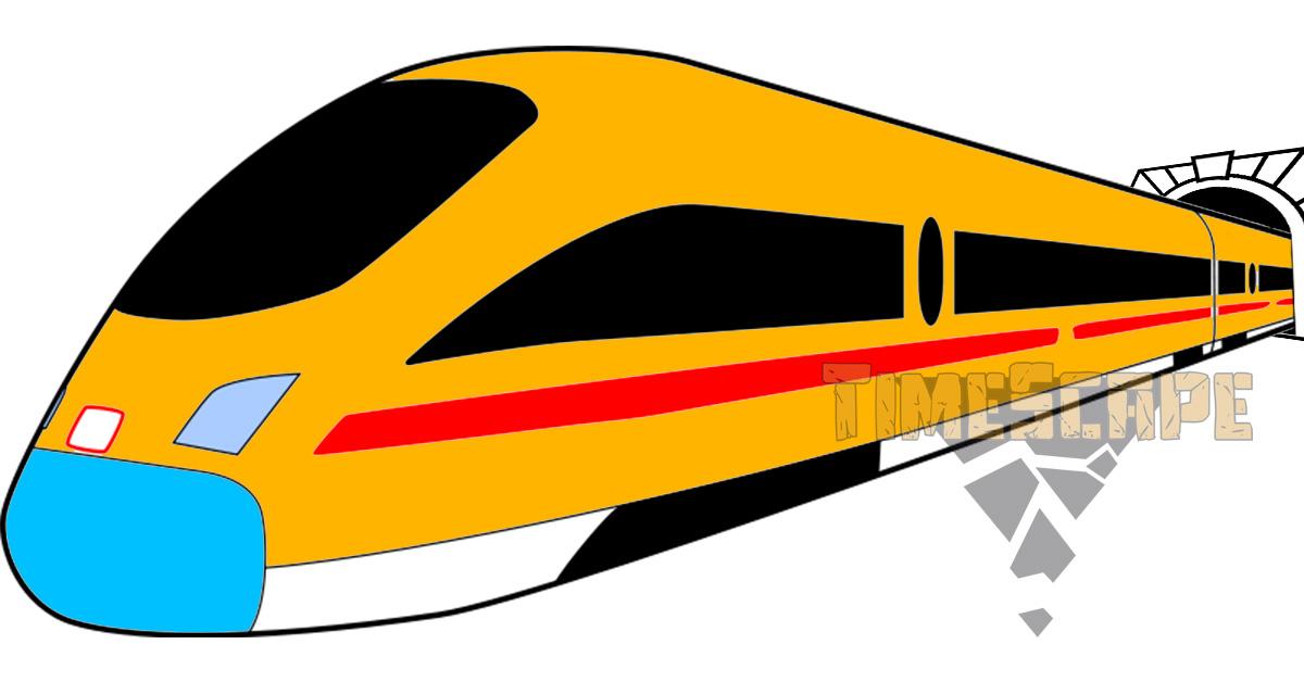 Влак в тунел?